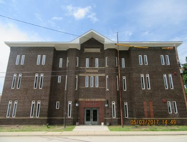 Batavia Armory Tuckpointing After American Facade Restoration